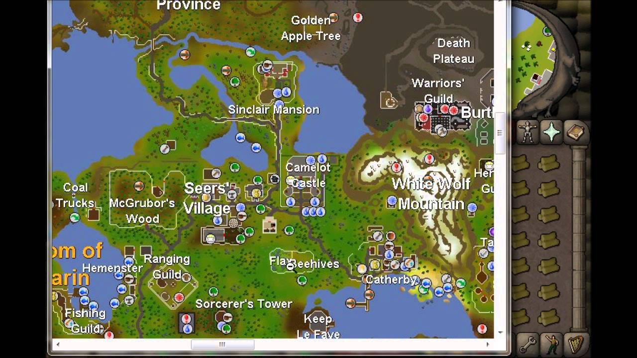 runescape 2007 best spot for cutting willows  YouTube