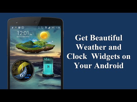 Get Beautiful Weather and Clock Widgets on Your Android | Guiding Tech