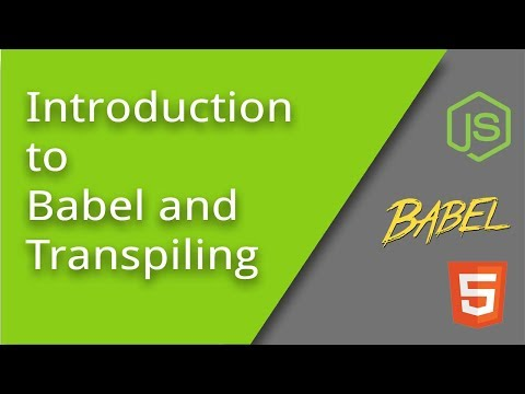 Getting Started With Babel
