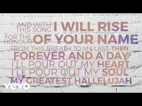 Matt Redman - Greatest Hallelujah (Lyric Video)