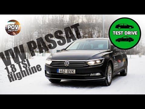 2018 VW Passat 1.8 TSI POV full review and test drive