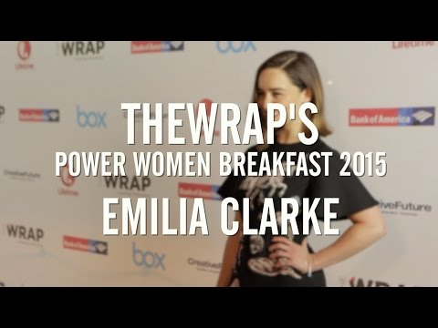 Emilia Clarke's 'Liberation' of Dragons Inspires at TheWrap's 7th Power Women LA Breakfast