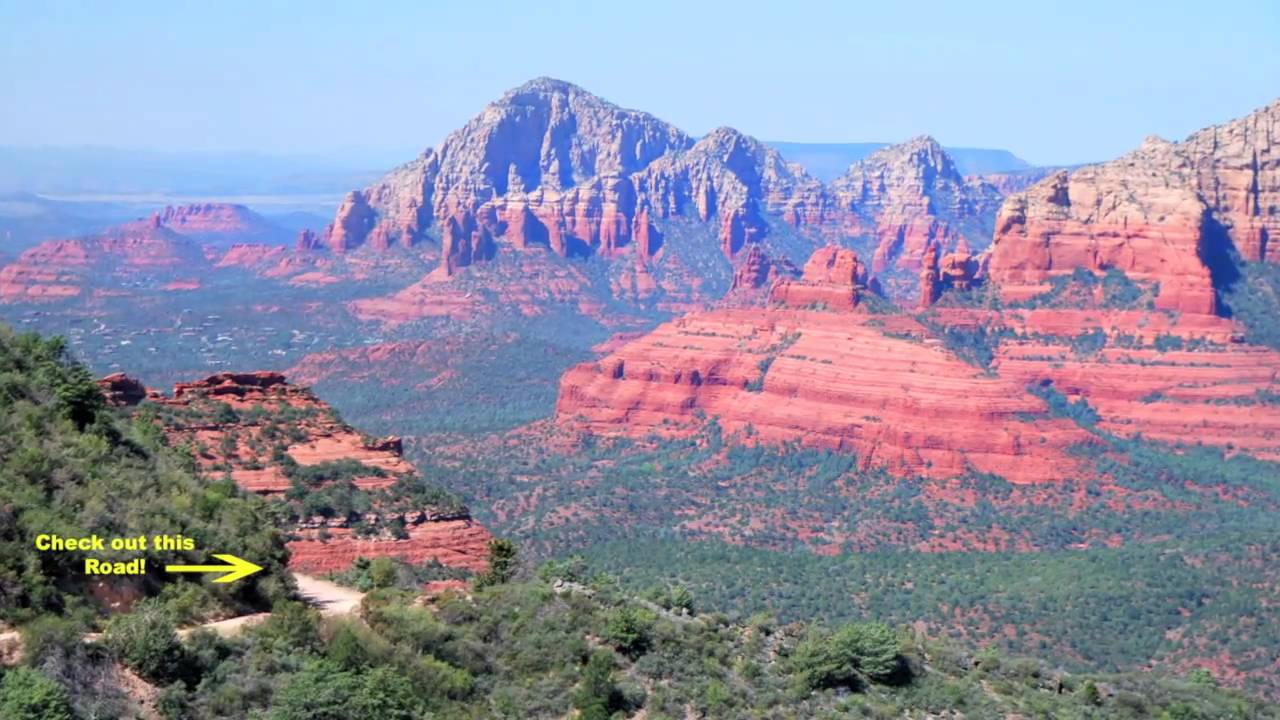 Distance From Sedona To Phoenix >> Schnebly Hill Scenic Drive Sedona Arizona Youtube