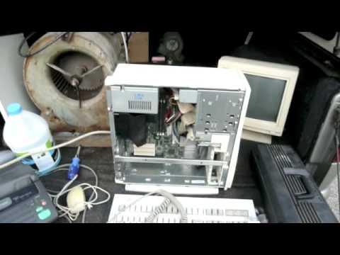 Han vasket PC en i oppvaskmaskinen