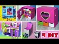 4 DIY  ORGANIZERS from cardboard
