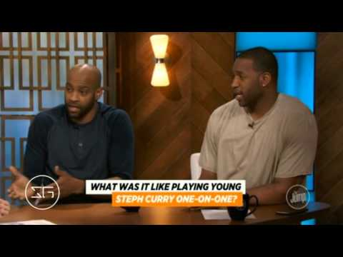 Vince Carter & Tracy McGrady on Stephen Curry's development | ESPN The Jump (2016)