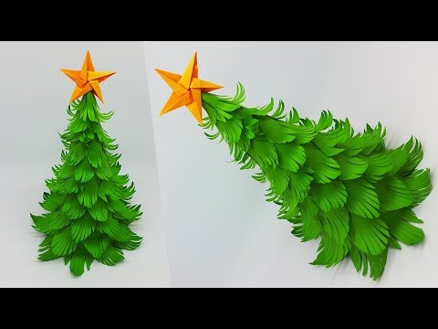 DIY Paper Christmas Tree | How to Make a 3D Christmas Tree | Crafts Tutorial