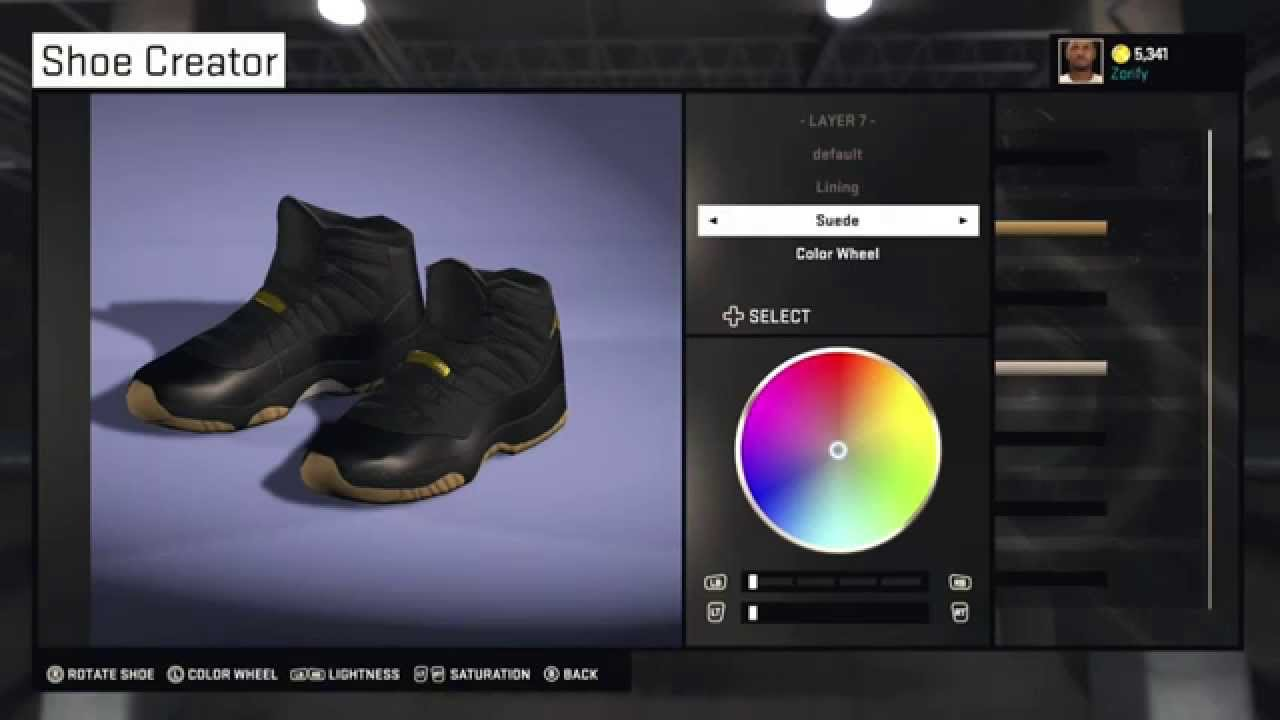 f9395d42eb50c3 NBA 2K15 Shoe Creator - Air Jordan 11 Custom