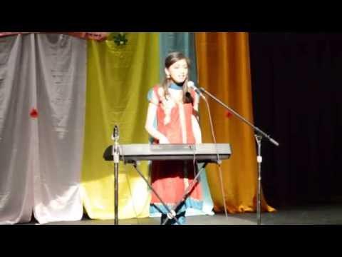 Shradha singing