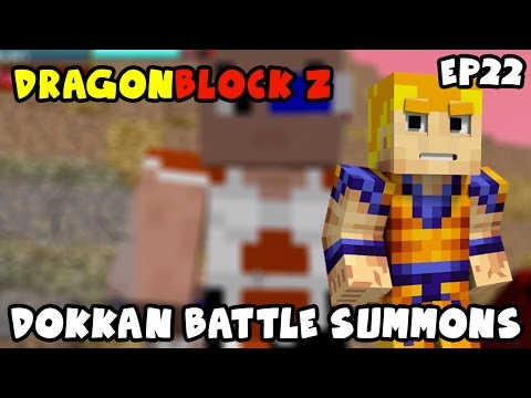 DOKKAN BATTLE SUMMONS?!! YES I JUST PULLED THAT | Dragon Block Z Episode 22