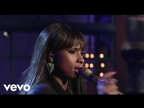 Jennifer Hudson - Where You At (Live on Letterman)