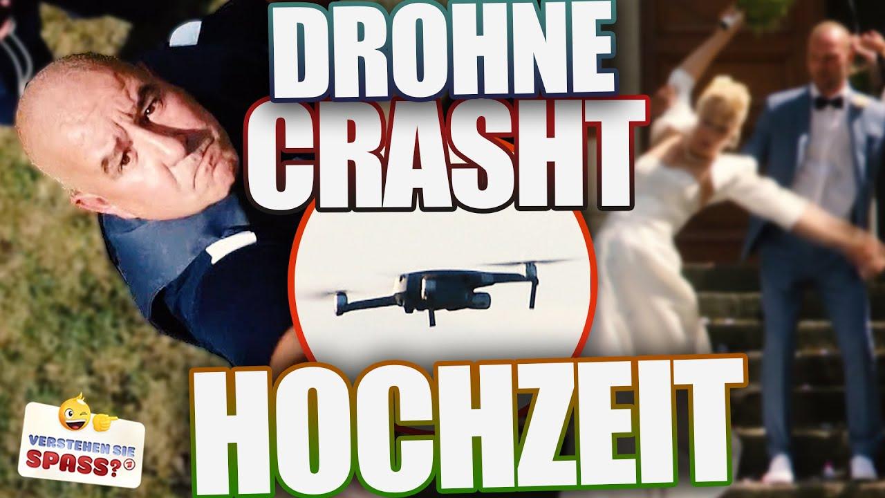 Drohne außer Kontrolle: Hochzeit zerstört | Verstehen Sie Spaß?