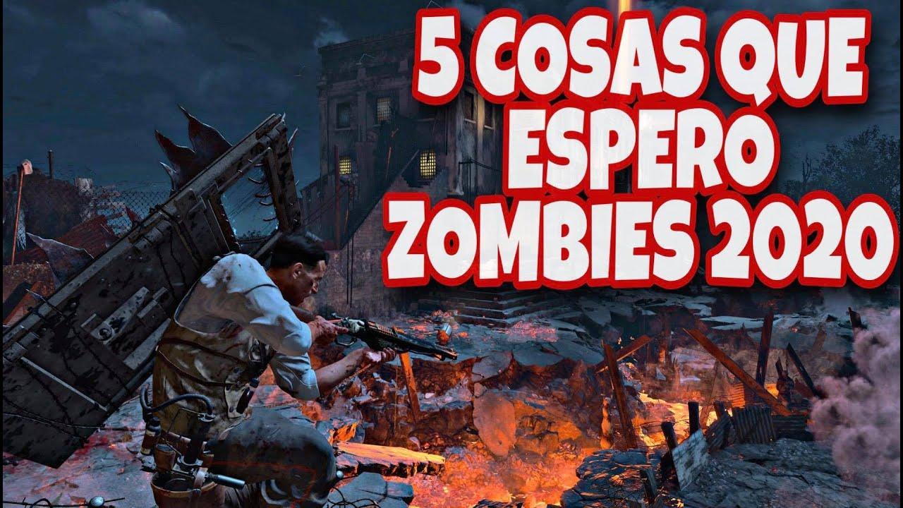 5 COSAS QUE ESPERO DE ZOMBIES 2020/COD BO5 COLD WAR