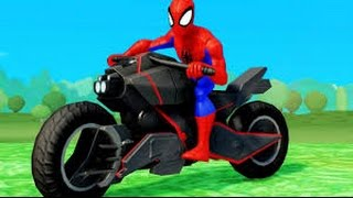Beste  Kinderfilm - Farben lernen mit Spiderman und Cars 2017