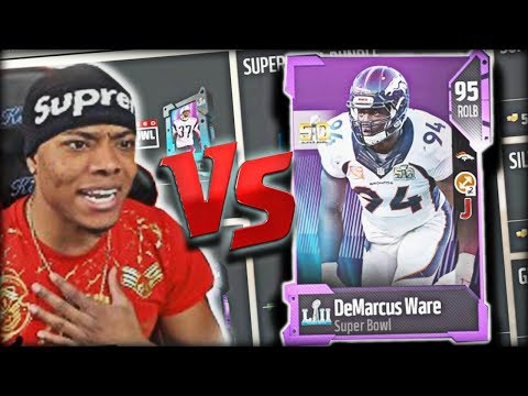 Pack God Gets DeMarcus Ware 🏆 Packs Are Trash!! | Madden 18 Ultimate Team - Mut 18