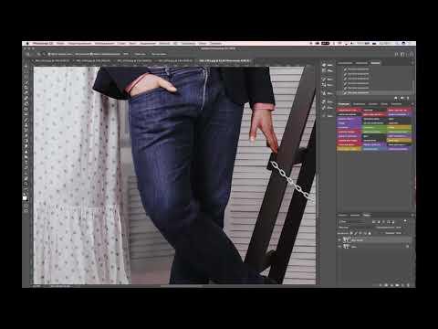 Растягиваем платье в Photoshop. Марионеточная деформация или Puppet Warp.