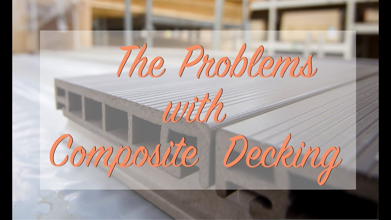 The Problems with Composite Decking | The Craftsman Blog