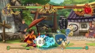 Battle Fantasia RPG Xbox 360 video game screenshots trailer