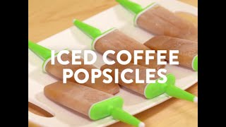 Cool Summer Treats: Iced Coffee Popsicles