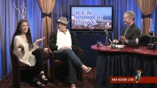 """Ken Boxer Live,"" 1970s Teen Idol Leif Garrett is Guest, with Co-Host Tai Babilonia"