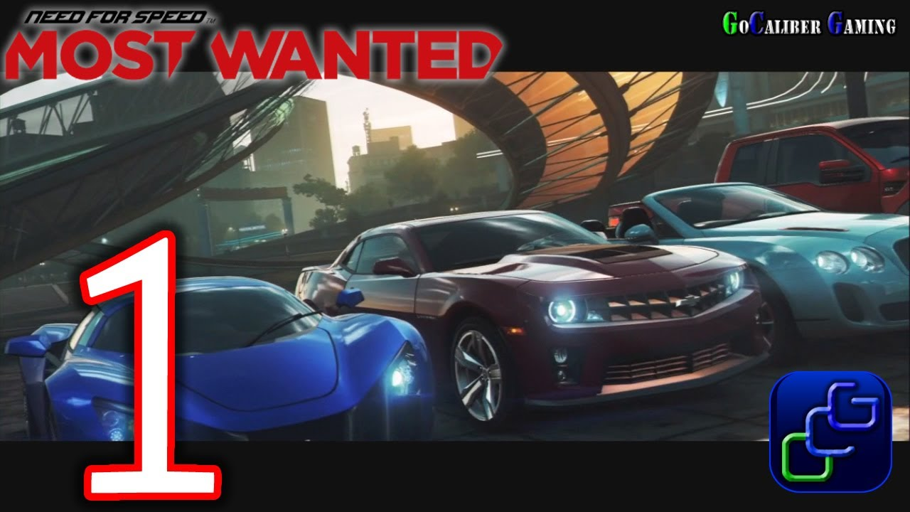 Need For Speed Most Wanted 2012 Walkthrough Gameplay Part 1