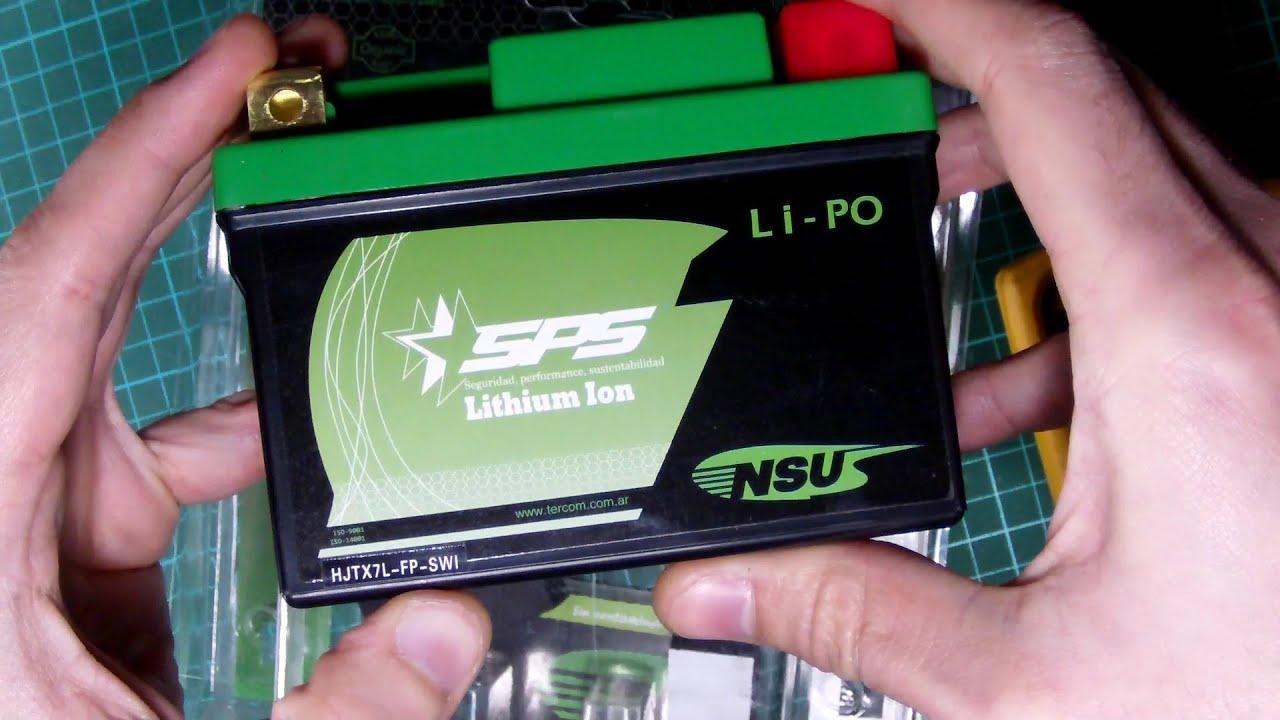ca7d8e6055c baterias de litio para moto? parte 4 - YouTube