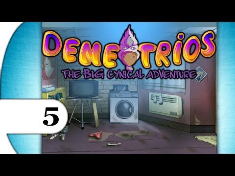 Demetrios - The BIG Cynical Adventure | walkthrough playthrough | PART 5 MOUSE