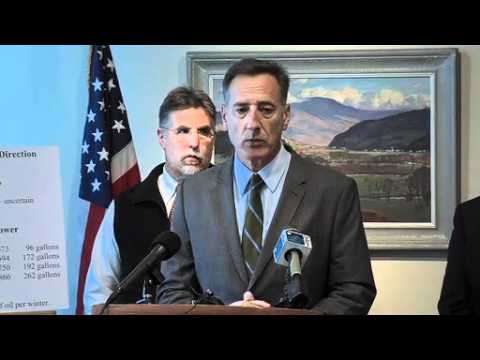 Vermont Governor Peter Shumlin - Press Conference 11/2/11