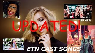 All escape the night cast members who made songs/parodies *UPDATED* (1k subs special part 1)