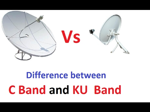 C Band And Ku Band Dish me Kya Difference hai ? Difference between C Band Aur KU Band dish antena