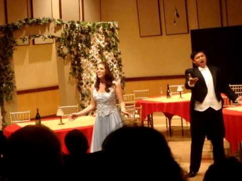 Soprano Chelsea Chaves and Tenor Kevin Kyle Gino - Manon