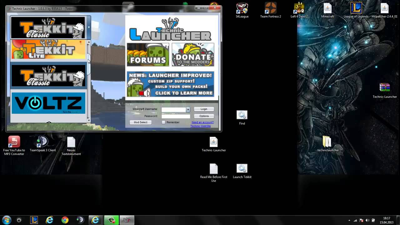 Minecraft Tekkit Launcher -Cracked - Kostenlos - [Deutsch ...