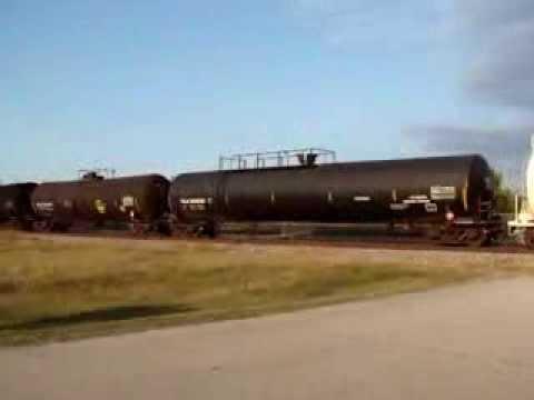 SB UP junk freight, Wagoner, OK  12-12-13