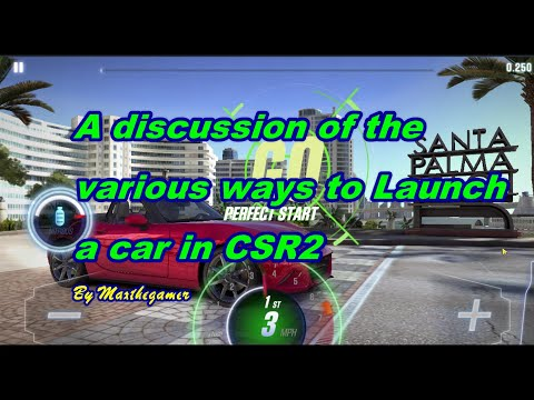 CSR2|CSR Racing 2 How To Launch In CSR2. A Discussion.