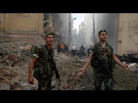 Beirut carbomb kills top Lebanese officer