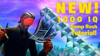 New Ramp Rush Meta In Fortnite battle Royale Console Tutorial ( Doritos Ramp Rush)