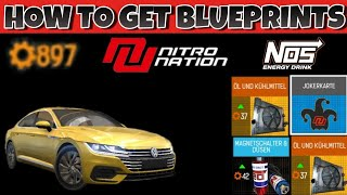 NITRO NATION | HOW TO GET FAST BLUEPRINTS / FREE / #11
