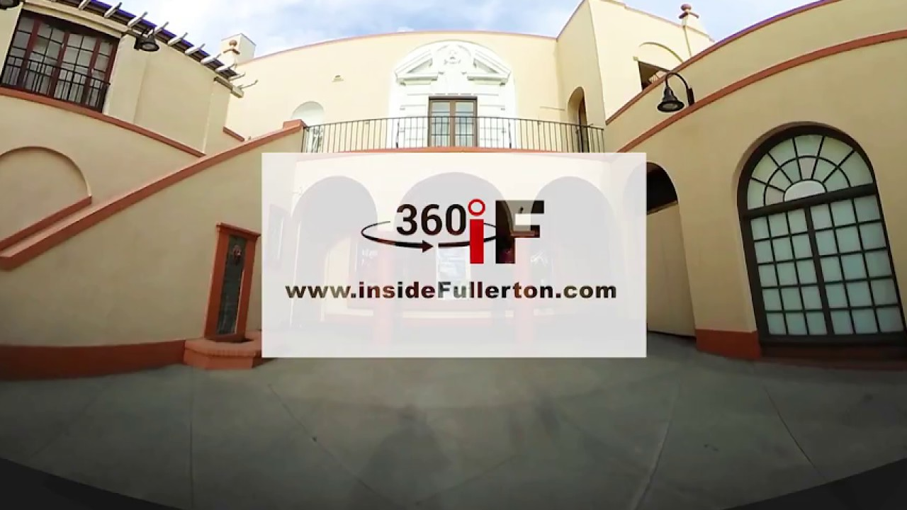 360 view of the Fox Fullerton Theater
