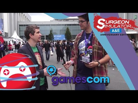 Surgeon Simulator A&E: Interview with Henrique Olifiers - Gamescom 2014