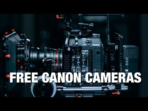 Canon is giving away FREE CINEMA CAMERAS