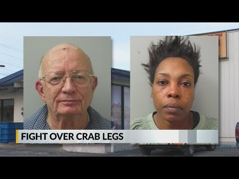 Promise - The Bizness Hourz - WTF (What Thee Friday) two people fight at buffet over crab legs!
