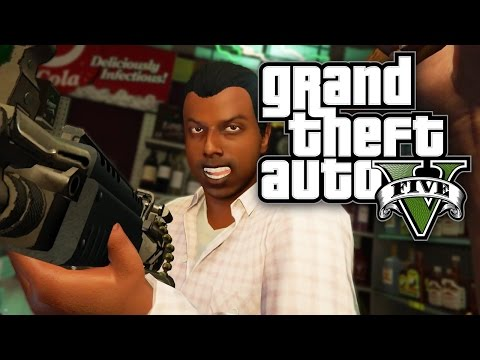 GTA 5 Online - FIRST PERSON ROBBERY! (GTA V Online PS4)