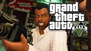 GTA 5 Online - FIRST PERSON ROBBERY! (GTA V Online PS4)(, 2014-11-18T21:05:02.000Z)