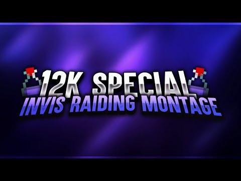 INVIS RAIDING MONTAGE!! + MY BEST INVIS RAIDS EVER!! - | 12k Special |