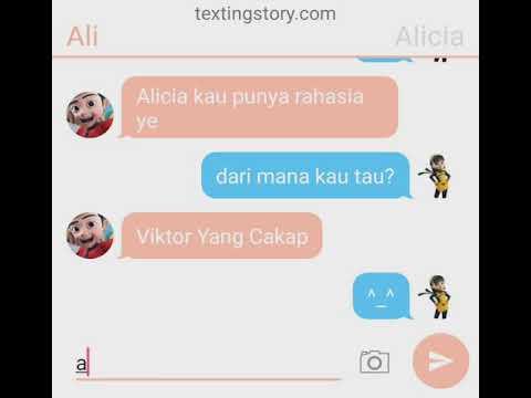 Rahasia Alicia:TexTingStory