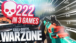 WE GOT THREE +70 KILL WARZONE GAMES IN A *ROW* - ft. Courage, Nadeshot & Rallied