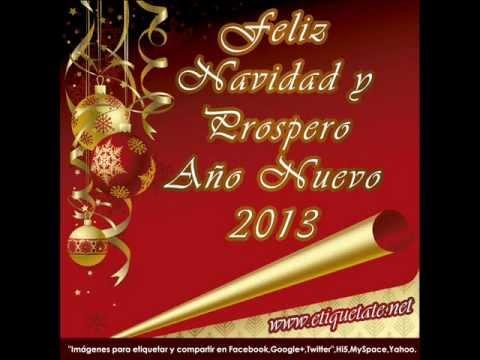 Feliz navidad 2012 y prospero a o nuevo 2013 youtube - Targetas de navidad originales ...