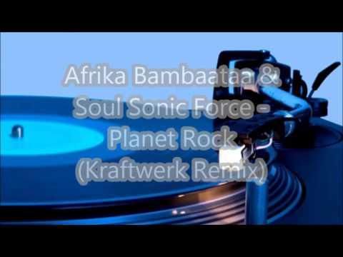 Afrika Bambaataa & Soul Sonic Force - Planet Rock (Kraftwerk Remix)