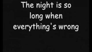 Repeat youtube video Skillet - The Last Night (Lyrics)