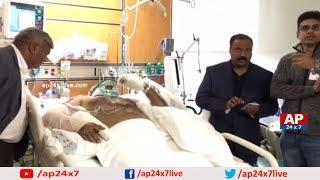 Telugutimes.net TANA Executive President Komati Jayaram Visits Kadiyala Venkata Ratnam in Alaska Hospital